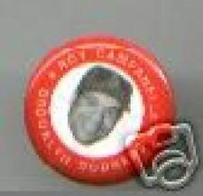 Roy CAMPANELLA 1969 dated photo pin Brooklyn DODGERS pinback BASEBALL Catcher