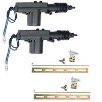 2Pcs Car Motor Plastic Universal Heavy Duty Power Door Lock Actuator 2 Wire 12V