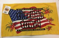 Myron Cope's Pittsburgh Steelers Patriotic Terrible Towel *BRAND NEW*