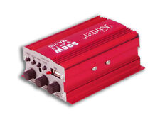 AMPLIFICATORE AUDIO 12V FM USB MP3 2 CANALI STEREO TELECOMANDO MA-700