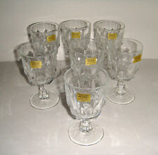 Vintage Wine Glass in Artic by Arcoroc France 7
