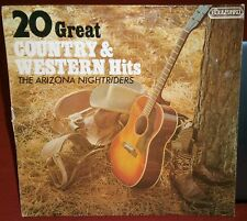 THE ARIZONA NIGHTRIDERS 20 GREAT COUNTRY & WESTERN HITS 4015 BOULEVARD RECORDS