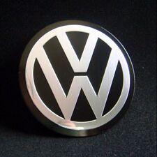 Set of 4pcs 90mm Wheel Center Hub Caps Decal Emblem Logo VW Jetta Golf Passat