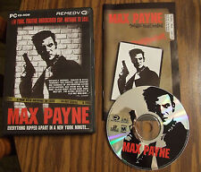 Max Payne for PC, original 2001 version in great condition.