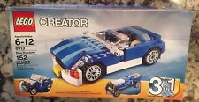 "LEGO® Creator 3 In 1 ""Blue Roadster"" Set #6913 ~2012 Rare Set New In Sealed Box!"
