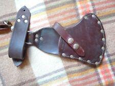 Custom Decker Leather Made By G. Dale Yakima WA Axe Sheath For Packing