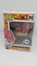 Funko Pop! Animation Dragon Ball Z SUPER SUPER SAIYAN ROSA Goku ESCLUSIVO 260