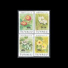 TUVALU, Sc #625-28, MNH, 1993, Flowers, Flora, Plants, 8GSI