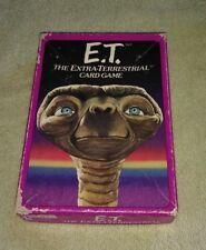 Vintage 1982 E.T. The Extra-Terrestrial Card Game  Parker Bros Complete