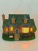 "Thomas Kinkade Hawthorne Village ""Pharmacy"" Lamplight Village House Collectible"