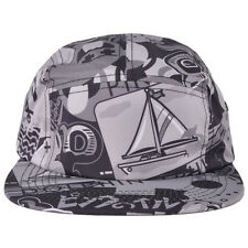 Pink Dolphin TIMELESS FIVE PANEL Grey Black Men's Hat