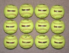 "* Dozen 12"" Slowpitch Softballs Trump Stote Evil Ball ASA 375 Comp .44 Core"