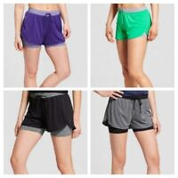 "C9 Champion Women's Training Knit Layered Shorts 4"" (Choose Color)"