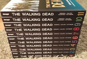 Walking Dead Hardcover HC LOT FULL COLLECTION 1 2 3 4 5 6 7 8 9 10 11 Omnibus