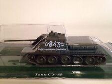 Fabbri Tanques Rusos Colección Soviética Su-85 Tanque De Batalla 1:72 Escala Nuevo