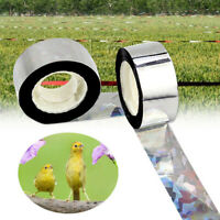 1PC Flash Reflective Bird Scare Tape Repellent For Orchard Pest Control Tape TRF