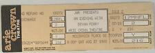 Bryan Ferry Concert Ticket Stub (August 27, 1988, Arie Crown Theatre)