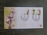 2017 MALTA FLORA SET 3 STAMPS FDC FIRST DAY COVER