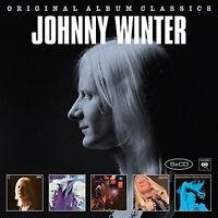 JOHNNY WINTER - ORIGINAL ALBUM CLASSICS 5 CD NEU