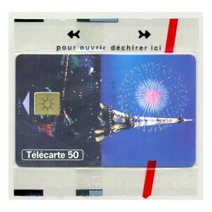 TELECARTE NSB 50 UNITE 12/99 PARIS TOUR EIFFEL 2000 F1033