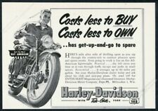 1953 Patti Brownell Harley Davidson RARE Action Photo Reprint Pic Image M22