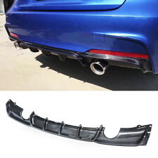 Rear Diffuser Lip for 2012-2018 BMW F30 F31 M Sport Bumper Carbon Fiber Style