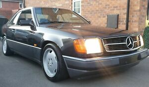 mercedes benz 124 300ce coupe 1988 rare classic 3.0 straight 6 spares or repair
