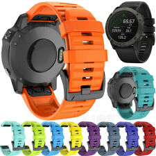 Für Garmin Fenix 6 6X Pro 5 5X Silikon Quick Install Armband Uhrenarmband Strap