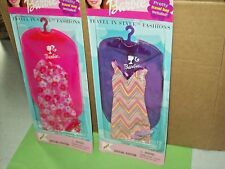 Barbie Lot Bag Travel in Style Fashion K-mart Special Edition 2002 Mattel