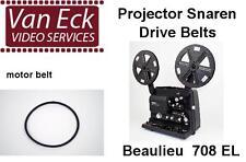 Beaulieu 708 EL - mono - duoplay - stereo (all types) - belt (motor)New belt,
