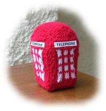 TELEPHONE BOX Knitting pattern by Georgina Manvell