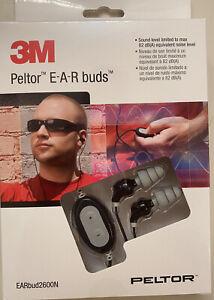 3M PELTOR Electronic Ear Buds 2600N