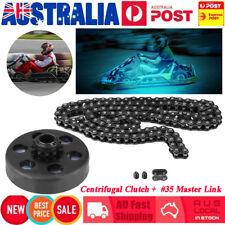 "Centrifugal Clutch 3/4"" Bore 12 Tooth with #35 Chain For Go Kart Mini Bike AU"