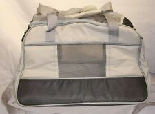 Pet Carrier Soft Sided Zippered Storage Cat,Dog Handles & Strap Airline Size