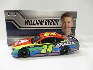 WILLIAM BYRON .. signed 2021 .. AXALTA .. COLOR CHROME .. 1/24 CAR