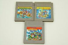 SUPER MARIO LAND 1 2 3 Wario GB Nintendo Gameboy Japan USED