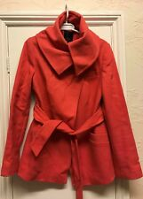 Ted Baker Rose Corail Laine Court Wrap trench-coat Taille 3 Uk 12