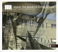 Music for Modern Living SEVEN-CD-Chill Out Lounge down ritmo future Jazz
