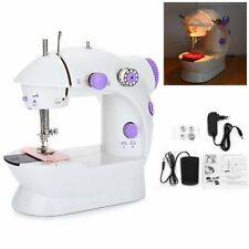 Portable Mini Desktop Sewing Machine Double Speed Automatic Thread with#Light