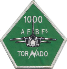 RAF 12 Squadron Tornado 1000 Hours Embroidered Patch ** LAST FEW **