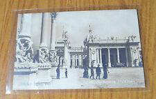 CARTOLINA TORINO ESPOSIZIONI 1911 ENTRATA MOSTRA FRANCESE NON VIAGGIATA RARA