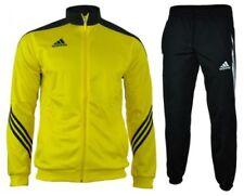 Abbiglimento sportivo da uomo gialli adidas con tasche