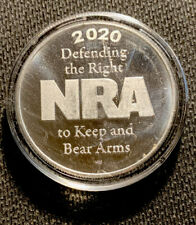 NRA 2020 National Rifle Association Right To Bear Arms 1 Oz .999 Silver Round 2A