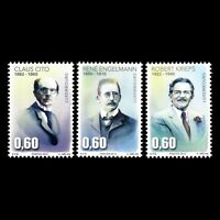 Luxembourg 2015 - Personalities Claus Cito Robert Krieps - MNH