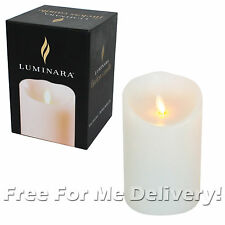 Luminara Vanilla Decorative Candles