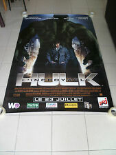 AFFICHE THE INCREDIBLE HULK 4x6 ft Bus Shelter D/S Movie Poster Original 2008