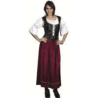Femme XL # wench pirate médiéval femme déguisement Taille Unique Déguisement