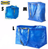 IKEA BRATTBY & FRAKTA Bag Grocery Laundry Shopping Storage Tote Blue