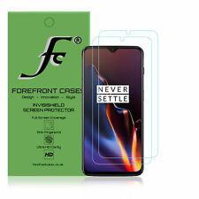 OnePlus 6T Hydrogel Screen Protector [2 Pack] Guard Cover Film Hd Clear Thin