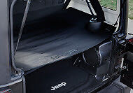 GPCA Jeep Wrangler 4-Dr JKU Cargo Cover for model 2007-2017